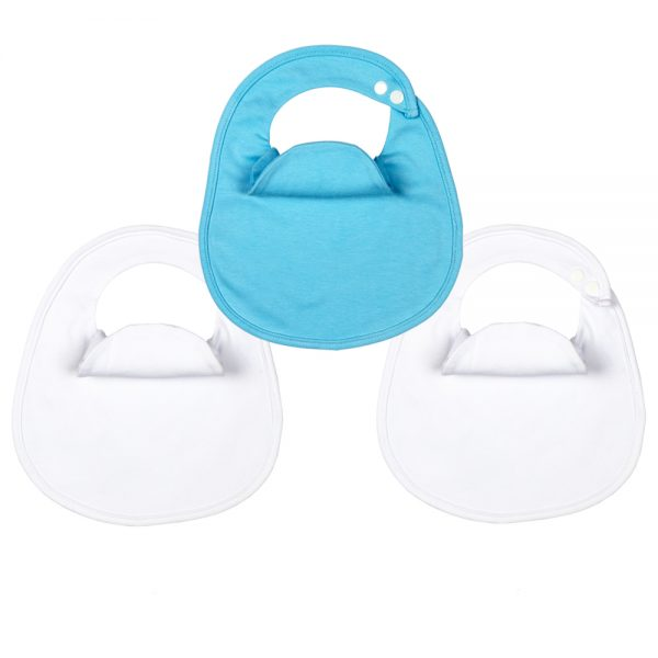 BibEasy Bibs Dribble Catcher Bibs 3 Pack