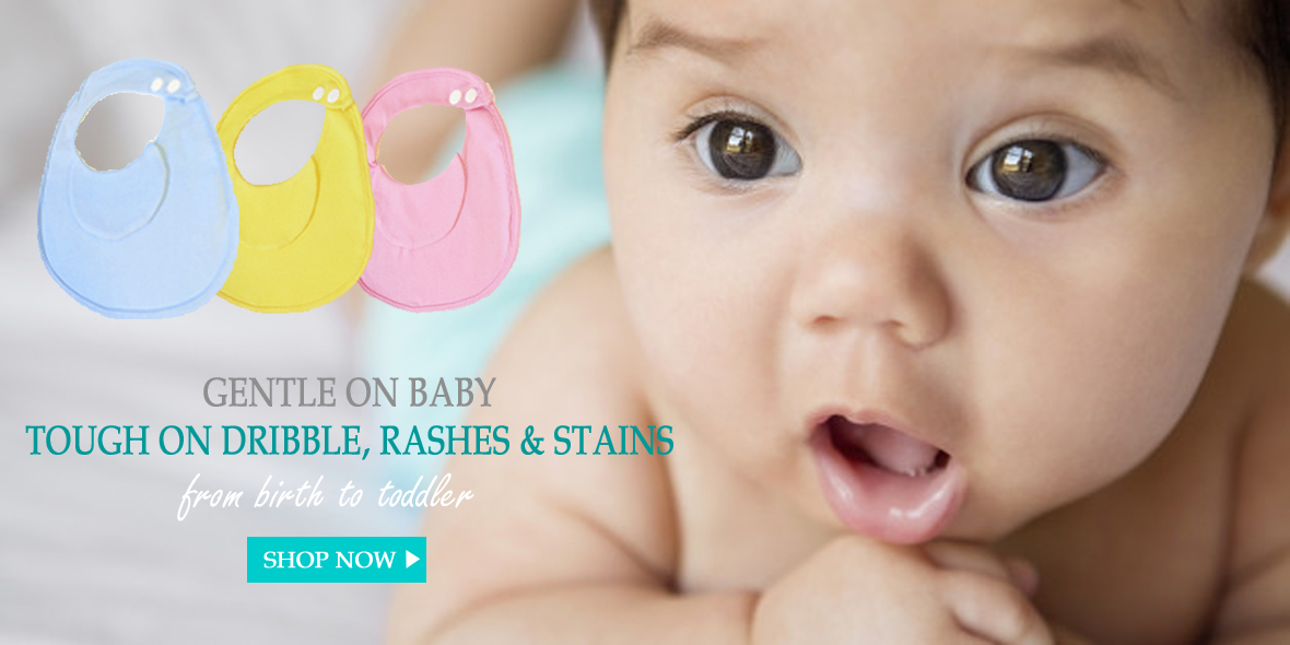 BibEasy Bibs-Dribble Rash, Prevents Stained Baby Clothes