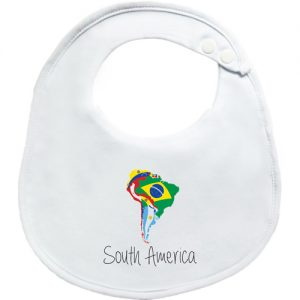 South America BibEasy Baby Bib