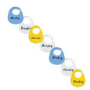 BibEasy-7-Pack-Days-of-the-week-baby-bibs-blue