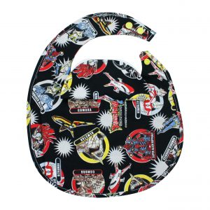 Ultra Kaiju Cartoon BibEasy Baby Bib