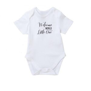 Welcome-to-the-world-Bodysuit | BibEasy Bibs