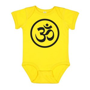 Peace-Bodysuit-BibEasy-Bibs-yellow