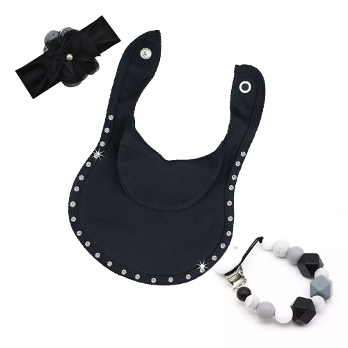 Diamante-BibEasy Baby Bib with accessories